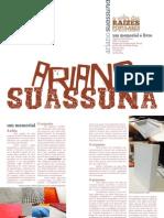 """Memorial Projeto Editorial """"Ariano Suassuna - O Valor das Raízes Populares em Nossa Cultura"""""""