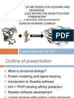Docking & Designing Small Molecules within the Rosetta Code Framework