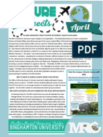 MRC April Newsletter 2014