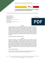 La percepción de la evolución en las competencias en el alumnado de Máster en Educación Físico-Deportiva