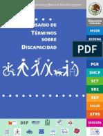 Glosario discapacidad CONADIS
