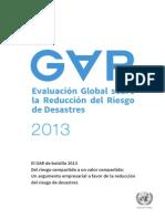 GAR13_Pocket_ES Informe Riesgo Naciones Unidas