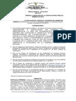 RESOLUCIÓN DE APERTURA