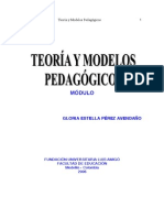 Teorías y modelos pedagógicos