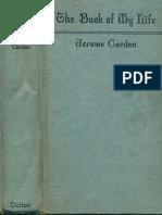 Cardan Book of My Life 1930
