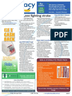 Pharmacy Daily for Fri 04 Apr 2014 - 10,000 fighting stroke, TGA Protos black box, Pharmacy AF screening, Salt of the earth and much more