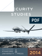 2014 Security Studies Booklet