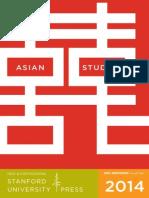 2014 Asian Studies Booklet