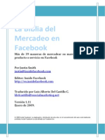 La Biblia Del Mercadeo en Facebook Al 010209