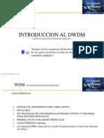 Curso de Posgrado - Capacitación en DWDM
