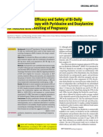[Edit] Ori Artikel, Evaluation of the Efficacy and Safety of Bi-Daily