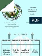 Programa de Introducción al C.Científico