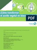 Aceite en Biocombustible