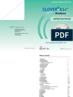 [CE]CloverA1c AnalyzerManual(Rev.07) 2010.06