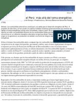 Biocombustibles en Peru