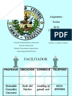 Programa de Teoría de la Comunicación