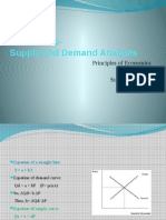 Section 2 Numericals- Supply and Demand Analysis