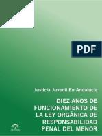 Justicia Juvenil en Andalucia