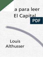 Althusser-Para Leer El Capital