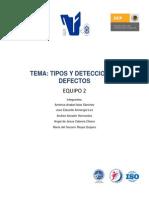 4.1.1 Tipos y Deteccion de Defectos