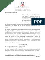 Sentencia TC 0050-12 C