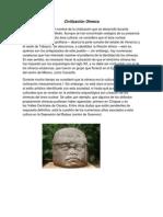 Civilizacion, Olmeca, Maya, Azteca, Inca
