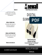 Digital Summing Unit UK