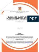 Workforce-Guidelines on Employment Pass Applications in Malaysia V1