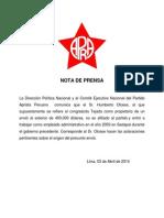 Nota de Prensa 30414