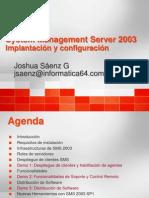 WebCast SMS Implantacion