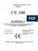 Ce-100 Section Rolls