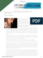 Ricard Mamblona - Nuevas Conversaciones Sobre Cine Documental (IV). Kerry McLeod