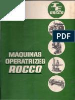 Fresadora Rocco Rfu n1
