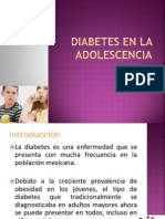Diabetes en La Adolescencia (1)