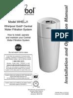 Whirlpool Model WHELJ1 Manual