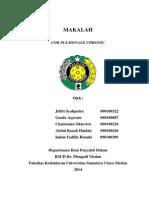 Case report Cor pulmonale chronic