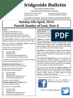 2014-04-06 - 5th Lent A