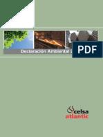 Declaracion Ambiental Celsa