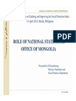 10-Social Protection Index Technical Workshop - Incorporating SP Questions in the Household Surveys_Mongolia (Oyunchimeg Dandar)