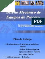 Diseño Mecanico de Equipos de Proceso (1.2011) - Introducción