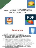 Bacterias Import Antes en Alimentos