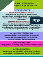 Kata-kata Operasional Indikator