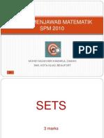 34971709 Teknik Menjawab Matematik Spm 2010