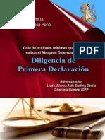5461128 Diligencia de Primera Declaracion