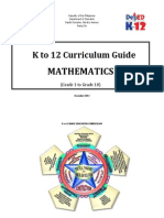 Math Curriculum Guide Grades 1-10
