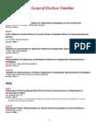 2014 General Timeline
