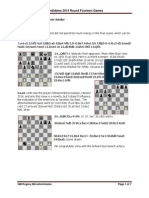 FIDE Candidates Chess Tournament 2014 Round 14
