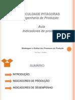 AULA INDICADORES DE PRODUÇÃO E DESEMPENHO
