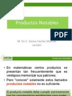 Productos Notables UNIVIM