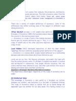 Economics for Banking diploma